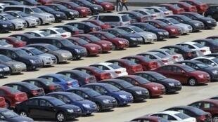 在中国制造的美国汽车