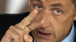 L'ancien président Nicolas Sarkozy a posté un message sur sa page Facebook.