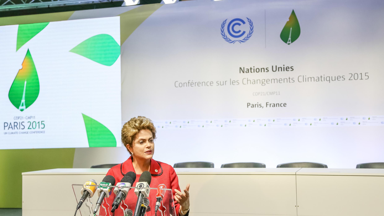 Presidenta Dilma Rousseff participou da COP21 em Paris