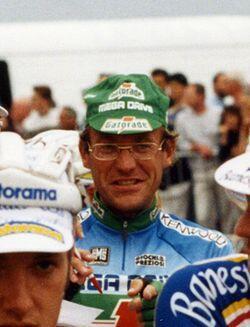 "Лоран Финьон на велогонке ""Тур де Франс"" 1993 г."