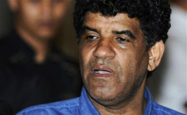Abdallah al-Senoussi, ancien chef du renseignement libyen sous le régime Kadhafi, ici à Tripoli en août 2011.