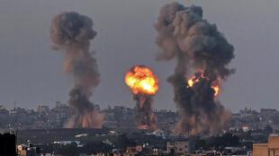 frappes ériennes israel gaza conflit israelo palestinien
