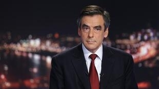 Fillon on French channel TF1 on Wednesday 21 November