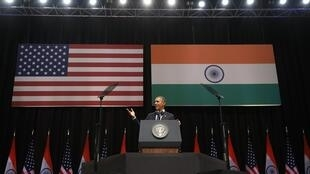 O presidente norte-americano, Barack Obama, finalizou sua visita de três dias à Índia nesta terça-feira (27) depois de discursar em Nova Délhi.