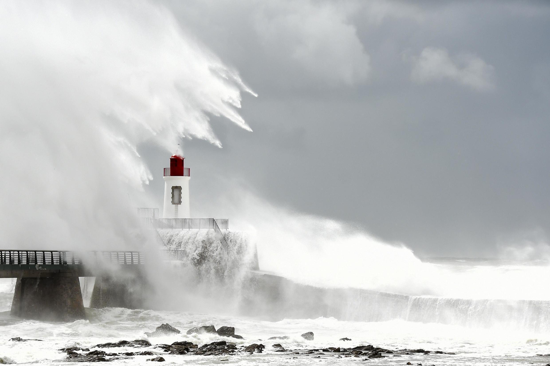 Storm Miguel hit Sables d'Olonne on 7 June 2019. Now the seaside town is waiting for Amélie.