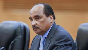 L'ancien président mauritanien Mohamed Ould Abdel Aziz.