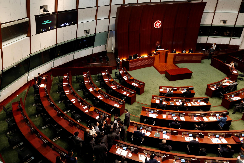 香港立法会会场。摄于2016年11月2日