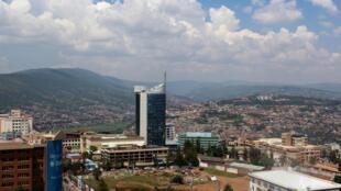 Vue de Kigali.