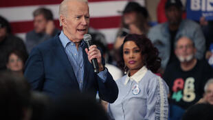 L'ancien vice-président Joe Biden, lors d'un meeting électoral à la Coastal Carolina University, à Conway en Caroline du Sud, le 27 février 2020.