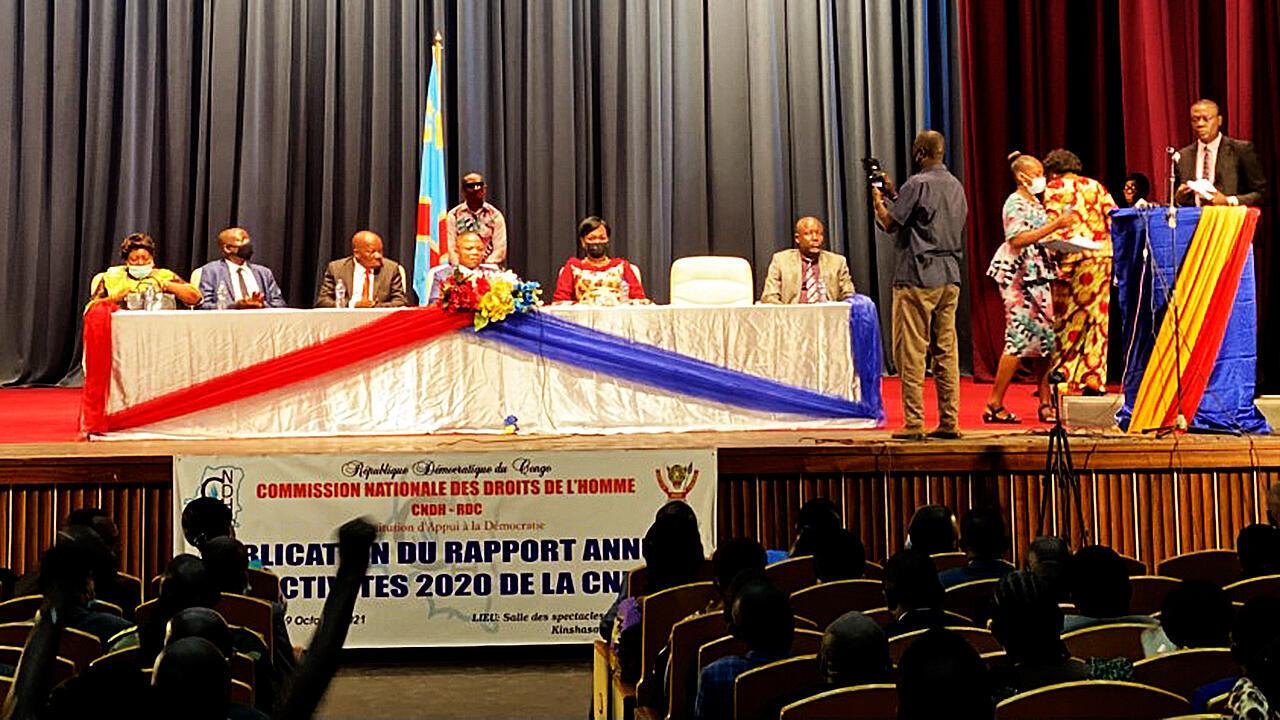 PHOTO CNDH en RDC - 19 octobre 2021