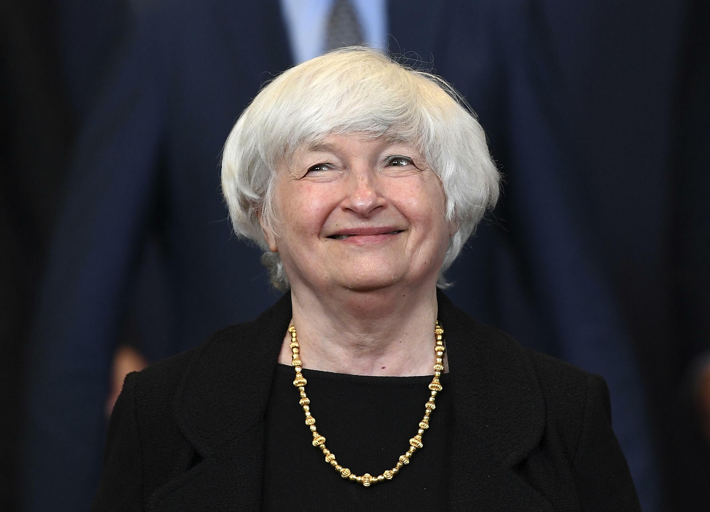 美國財長耶倫  Janet Yellen