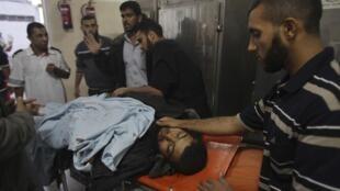 Dois palestinos morreram e outros sete ficaram feridos durante dois ataques da aviação de Israel contra a Faixa de Gaza na madrugada desta quarta-feira,(24).