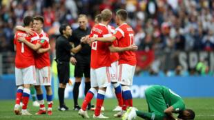 تیم ملی عربستان پنج بر صفر به روسیه باخت