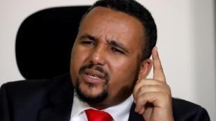 L'opposant oromo Jawar Mohammed le 24 octobre 2019 (image d'illustration).