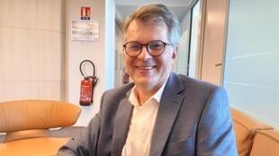Philippe Heussele, agriculteur en Seine-et-Marne, et secrétaire général de l'Assemblée Générale des Producteurs de Blé (AGPB).
