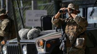 美国军方将在美墨边境部署5200名现役军人帮助边境巡逻人员执勤