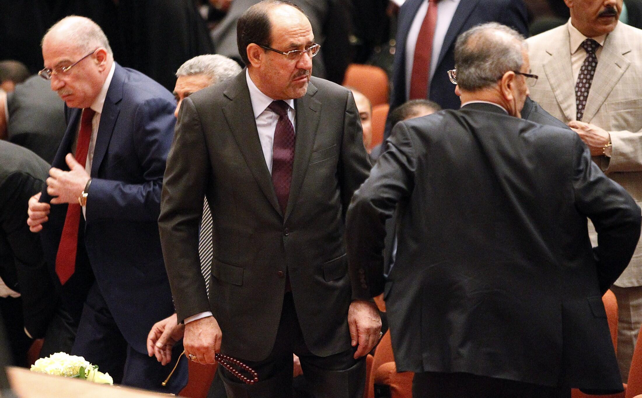 Премьер-министр Нури аль-Малики в парламенте Ирака 01/07/2014
