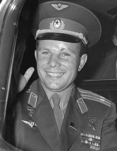 Yuri Gagarin, o primeiro homem a viajar para o espaço