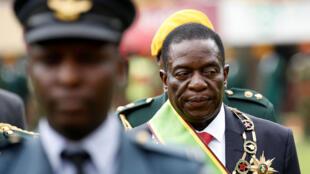 11月24日上台的津巴布韋新強人姆南加古瓦