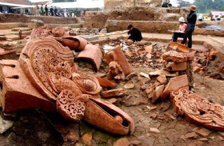 Di tích Hoàng thành Thăng Long được UNESCO công nhận Di sản văn hóa thế giới vào năm 2010 - DR