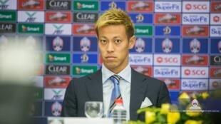 Keisuke HONDA បង្ហាញខ្លួនជាផ្លូវការនៅព្រឹកថ្ងៃអាទិត្យទី១២ សីហា ឆ្នាំ២០១៨
