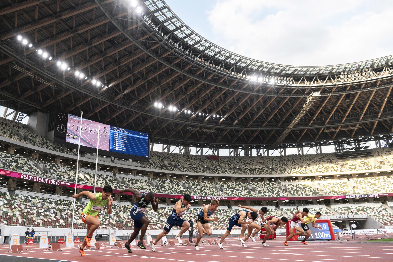 Image RFI Archive - Tokyo - athletics test event