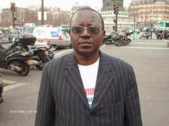 """Floribert Chebeya, kiongozi wa shirika la Haki za Binadamu """"La voix de sans voix"""" aliyeuawa."""