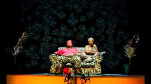 Une scène de la pièce <i>Macbeth,</i> du metteur en scène Sud-Africain Brett Bailey.