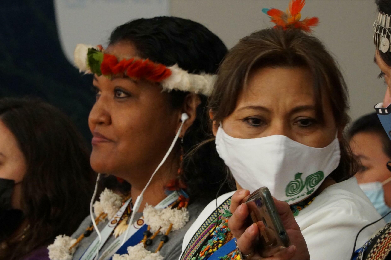 Claudette Labonté at IUCN 2021