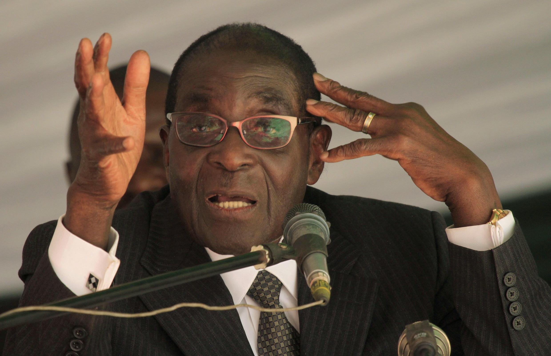 Zimbabwe President Robert Mugabe in May 2012