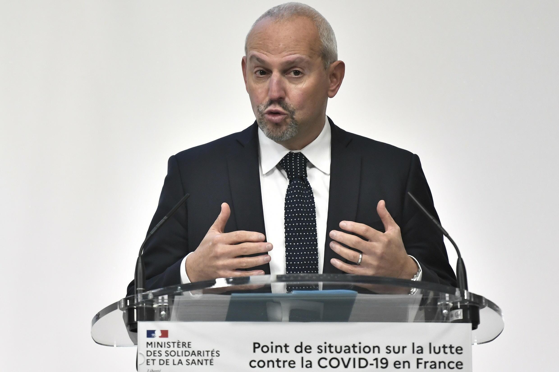 El Director General de Salud de Francia, Jérôme Salomon, en París, el 5 ed noviembre de 2020