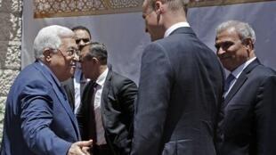 英威廉王子会晤巴勒斯坦主席 盼中东永久和平    2018年6月27日