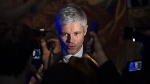 Бывший председатель партии «Республиканцы» Лоран Вокье