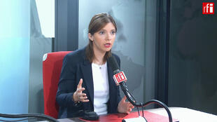Aurore Bergé sur RFI le 30 avril 2019.