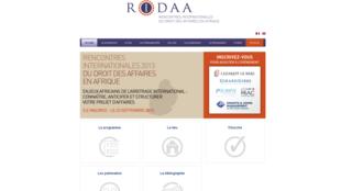 Site internet des RIDAA.