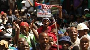 Mineiros na África do Sul