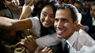 Guaido welcomed as a superstar during his Latin American diplomacy tour (1 March 2019)