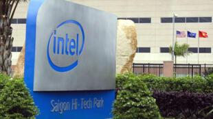 Cơ sở sản xuất chip điện tử của tập đoàn Mỹ Intel (DR)