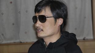 Chen Guangcheng, em foto do início de abril.