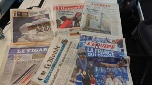 Diários franceses 02.08.2018