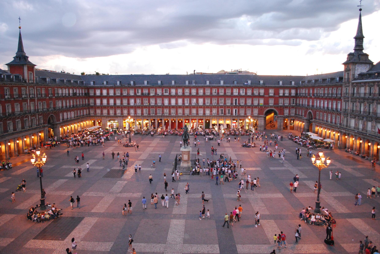 Madri é uma das cidades mais densas na Espanha