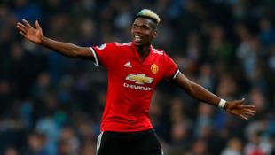 Dan wasan Manchester United Paul Pogba.