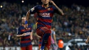 Neymar na Brazil da ke taka leda a Barcelona ta Spain