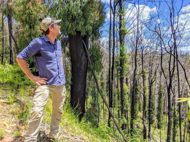 Ecologist Mark Graham