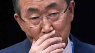 Babban Magatakarda na MDD, Ban Ki-moon.