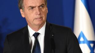 O presidente brasileiro, Jair Bolsonaro, defendeu em Israel sua tese de que o nazismo foi um movimento de esquerda.