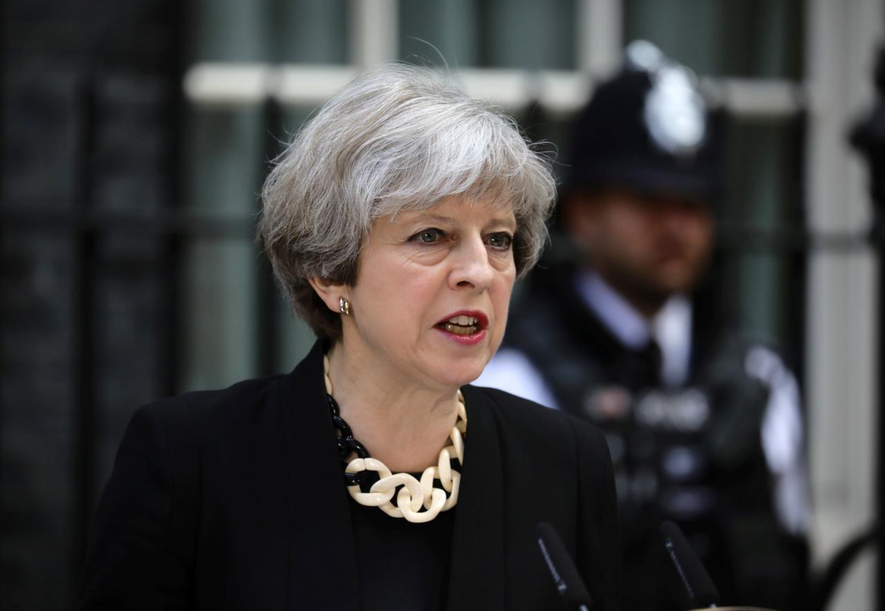 Fira Ministar Birtaniya Theresa May.