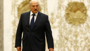 Президент Беларуси Александр Лукашенко в Минске 30 ноября 2017
