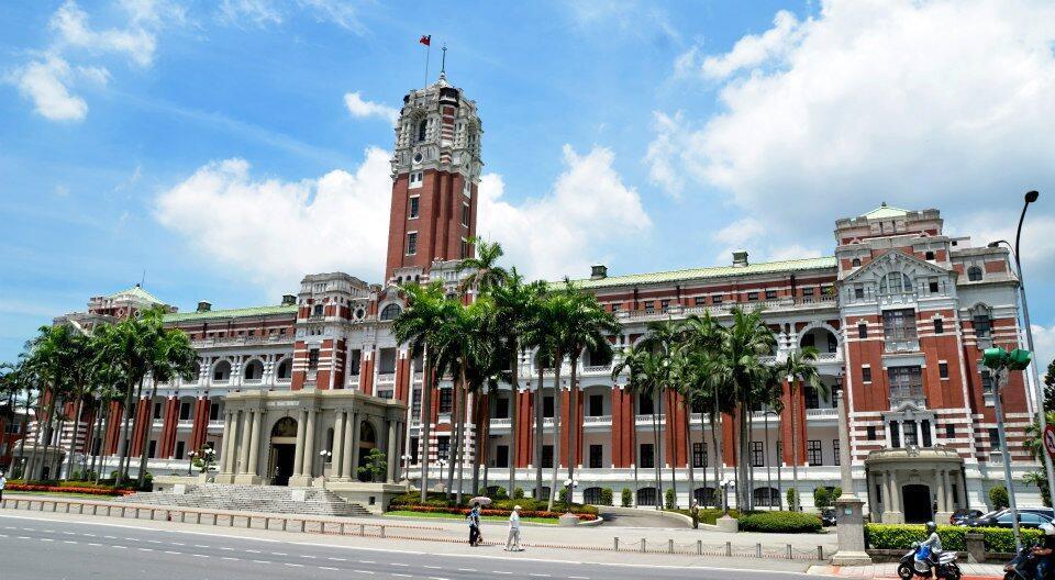 台灣總統府圖片