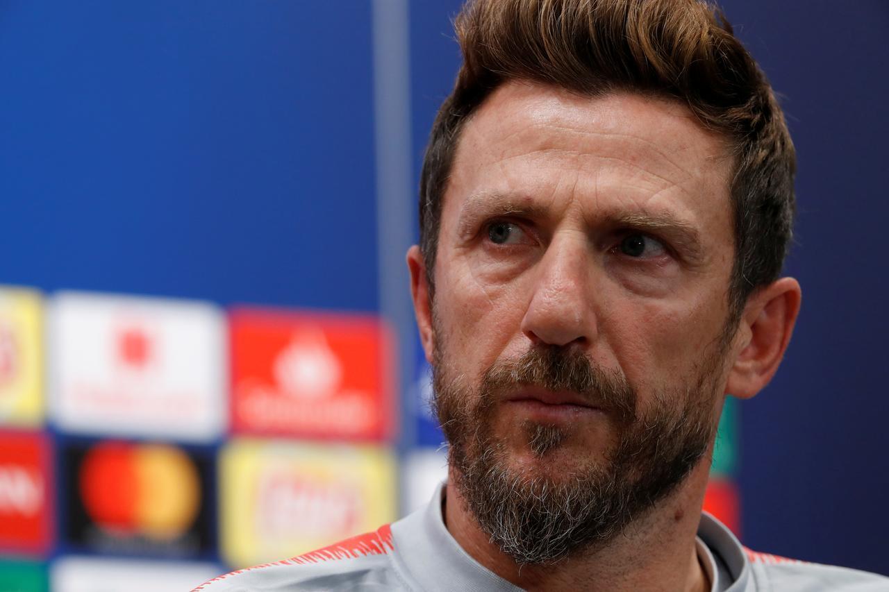 Eusebio Di Francesco, kocin da kungiyar AS Roma ta kora.